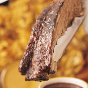 Beef Rib with Cabernet Sauce Recipe: Barbecue and Grilling Recipes from Weber Grills